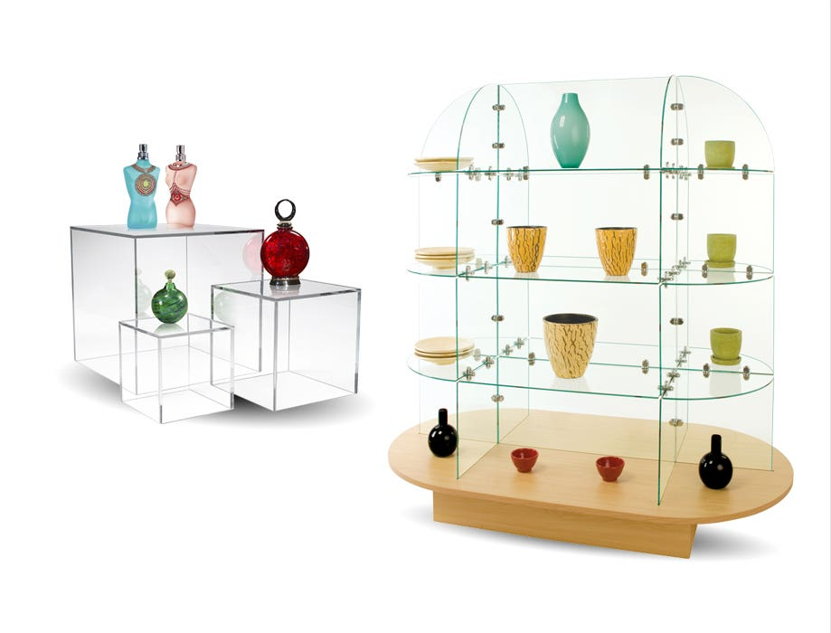 Acrylic & Glass Displays
