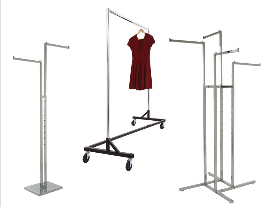 Retail Garment and Apparel Display Racks and Accessories