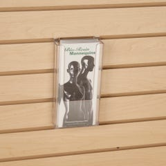 Slatwall Literature Holder