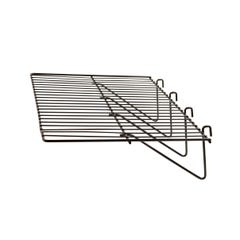 "23-1/2""L x 12""W Straight Shelf with 1/8"" dia. Wire for grid panels"