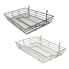 "1/4"" Wire Basket Tray for Grid Panel"