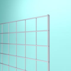Portable Grid Panels - Chrome