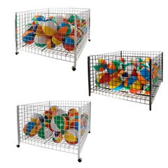 "48"" Square Grid Dump Bin"