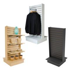 2-Way Slatwall Merchandiser