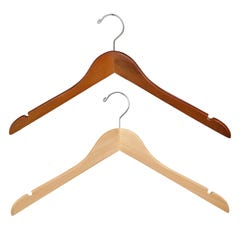 "Wooden Wishbone Blouse & Dress Hanger - 17"" Long"