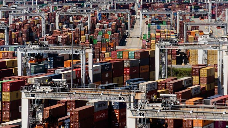 Crowded Port